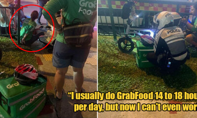 Grabfood Rider With 5 Kids Can't Work After Hit & Run Accident - World Of Buzz