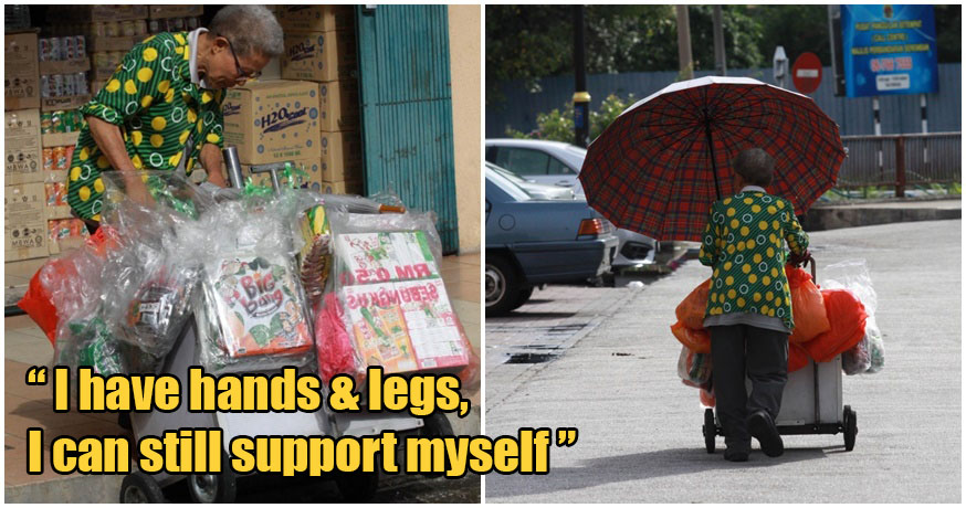 Hardworking 72Yo Grandma Refuses Help During Mco, Despite Only Selling Snacks To Survive - World Of Buzz 3