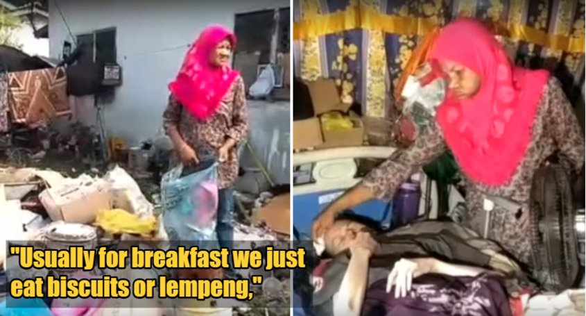 Hardworking Mother Is Struggling To Provide For Family As She Is Unable To Go Out Looking For Scrap Metal - WORLD OF BUZZ 1
