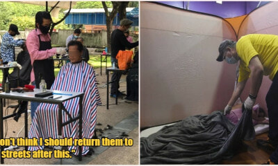 Homeless Well Taken Care Of By M'sian Authorities Who Plan To Help Them After MCO Is Over - WORLD OF BUZZ