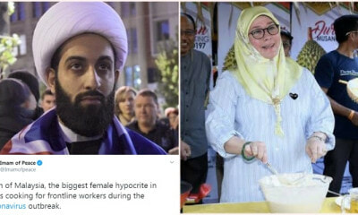 """Imam of Peace"" Insults Malaysia's Queen On Twitter, Faces The Wrath of Malaysians - WORLD OF BUZZ"