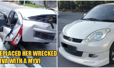 Lambo Owner From Viral Accident With Single Mum Generously Replaces Her Viva With A MyVi - WORLD OF BUZZ 3