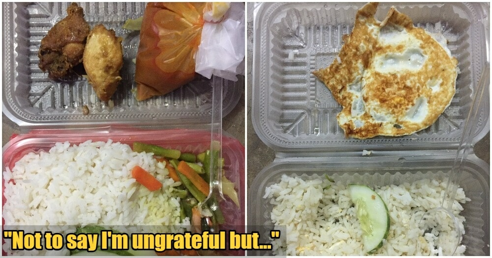 Malaysian University Student Complains About Quality of Free Food Given, Netizens Outraged - WORLD OF BUZZ 5