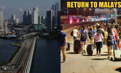 Malaysians with Singapore Work Permit Allowed to Go Home - WORLD OF BUZZ