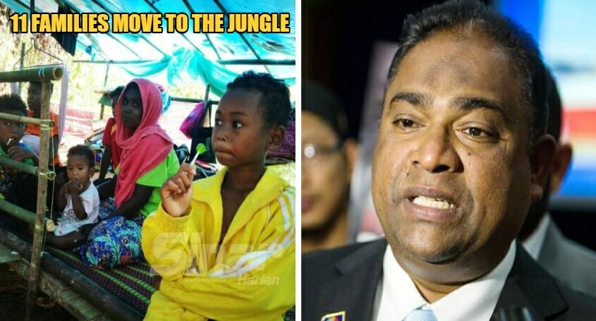 MCO: Orang Asli Families Move To The Jungle From Lack Of Food, Parliament Member Steps In To Help - WORLD OF BUZZ 6