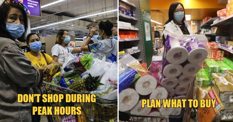 MCO Survival Guide: 4 Tips For Helpless Ketua Rumahs To Avoid Contact & Save More While Shopping! - WORLD OF BUZZ