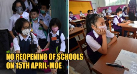 Ministry of Education Will Not Hastily Reopen Schools On 15th April If MCO Ends Early - WORLD OF BUZZ