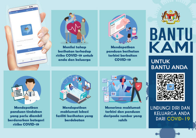 M'sian Government Developed Mysejahtera Mobile App For Citizens To Monitor Covid-19 Outbreak - World Of Buzz 2
