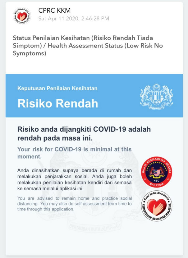 M'sian Government Developed Mysejahtera Mobile App For Citizens To Monitor Covid-19 Outbreak - World Of Buzz
