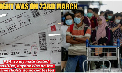 M'sian On Flight From London To KL Tests Positive For Covid-19, Advises Other Passengers To Get Tested - WORLD OF BUZZ