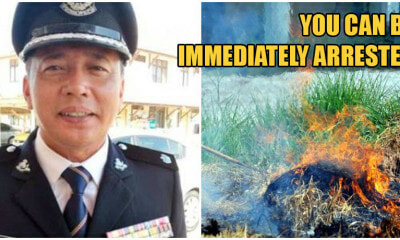 PDRM: If You Burn Rubbish Openly, You're Breaking The MCO & Will Be Immediately Arrested - WORLD OF BUZZ 2