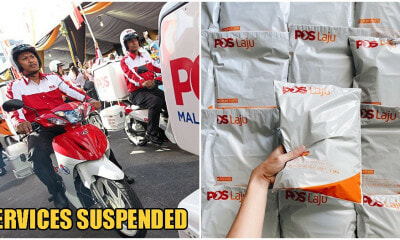 Pos Malaysia Is Stopping Delivery For International Mail And Parcels Until Further Notice - WORLD OF BUZZ 3