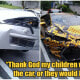Single Mum of 3 Who Ran Home-Cooked Meal Delivery Business Gets Car Wrecked By Lambo Driver - WORLD OF BUZZ