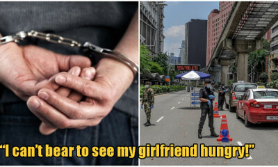 S'wak Man Arrested And Fined RM700 For Disobeying MCO To Buy Food For His Girlfriend - WORLD OF BUZZ