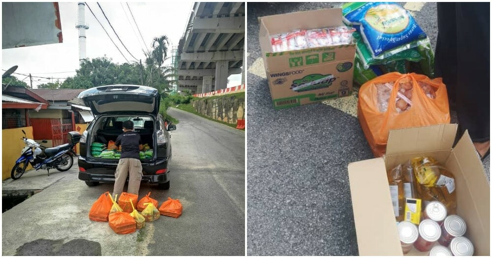 Sympathetic M'sians Distributes Household Supplies To 100+ Bangladeshi Workers - WORLD OF BUZZ 5