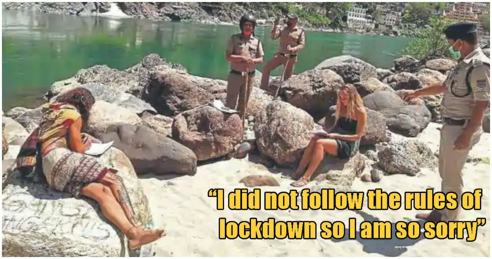 """Tourists Caught Breaching Lockdown Were Forced To Write """"I'M SORRY"""" 500 Times - WORLD OF BUZZ"""