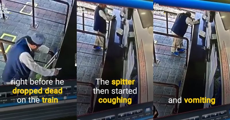 Video Of Thai Man With Covid-19 Spitting Went Viral On Social Media - World Of Buzz 5