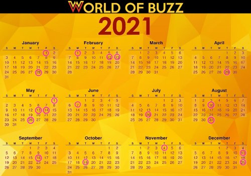 Ready For 2020 To Be Over Here S The 2021 Long Weekend Calendar So You Can Start Planning World Of Buzz