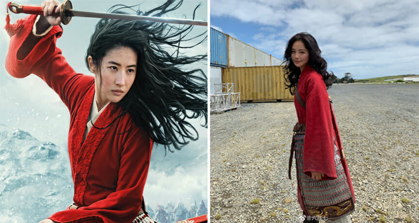 Photos Of Mulan Star S Stunt Double Goes Viral After Netizens Get Captured By Her Beauty World Of Buzz