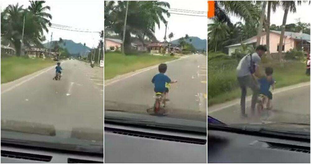 Boy Cycling Ft
