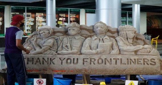 Sand Sculpture Langkawi 1