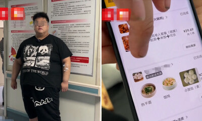 Obese Man Orders Excessive Takeouts