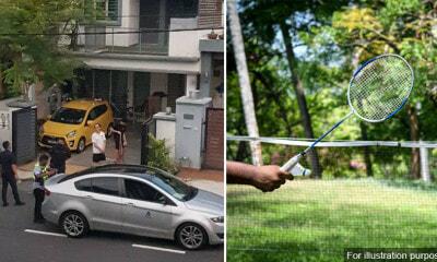 Badminton Outside House
