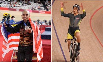 Azizulhasni Won Silver At Tokyo 2020