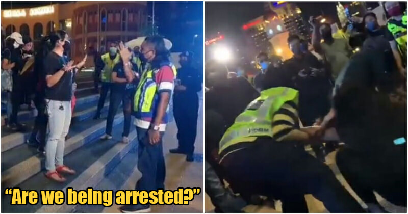 Public Outrage Pdrm Forcefully Drag Arrest