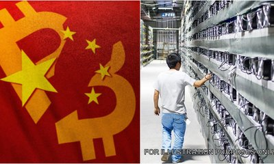 China Says All Crytocurrency Transactions Are Illegal
