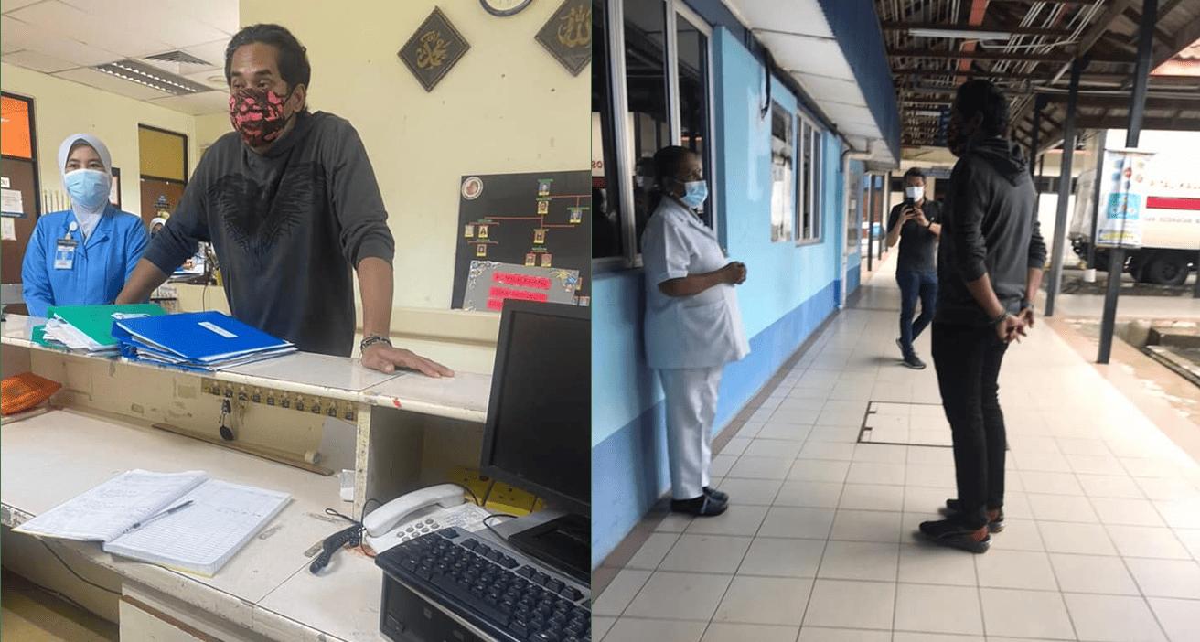 Khairy Surprise Visit To Kajang