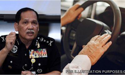 Pdrm Suggests Senior Citizens Be Assessed Before Renewing Drivers License