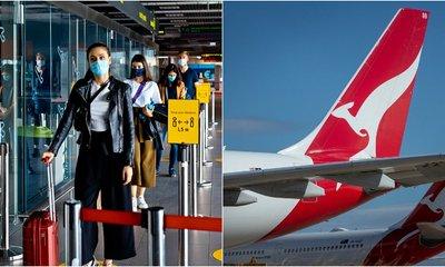 Qantas Bans Unvaccinated International Travellers