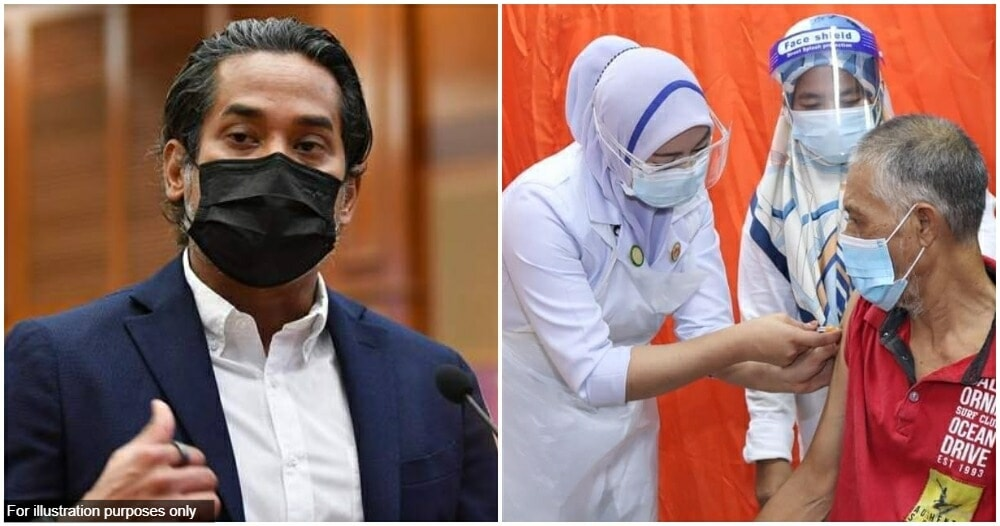 Khairy Jamaluddin Booster Shot