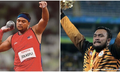 Malaysian Paralympian Ziyad Zolkefli 1