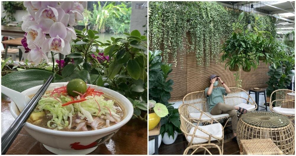 Orchid Farm Cafe Ulu Yam Selangor 2