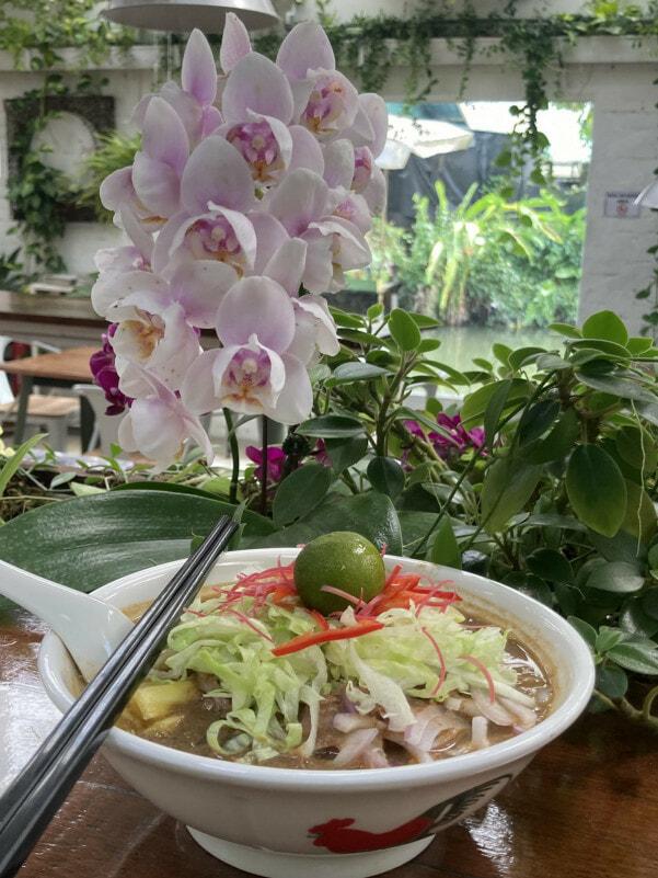 Orchid Farm Cafe Ulu Yam Selangor 8