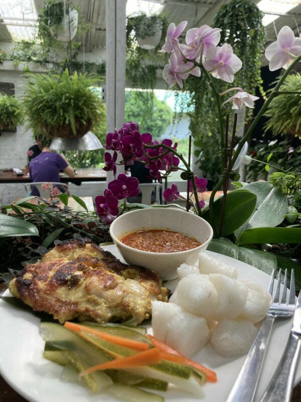 Orchid Farm Cafe Ulu Yam Selangor 9