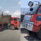 Lorry Dodges Car Driven Against Traffic
