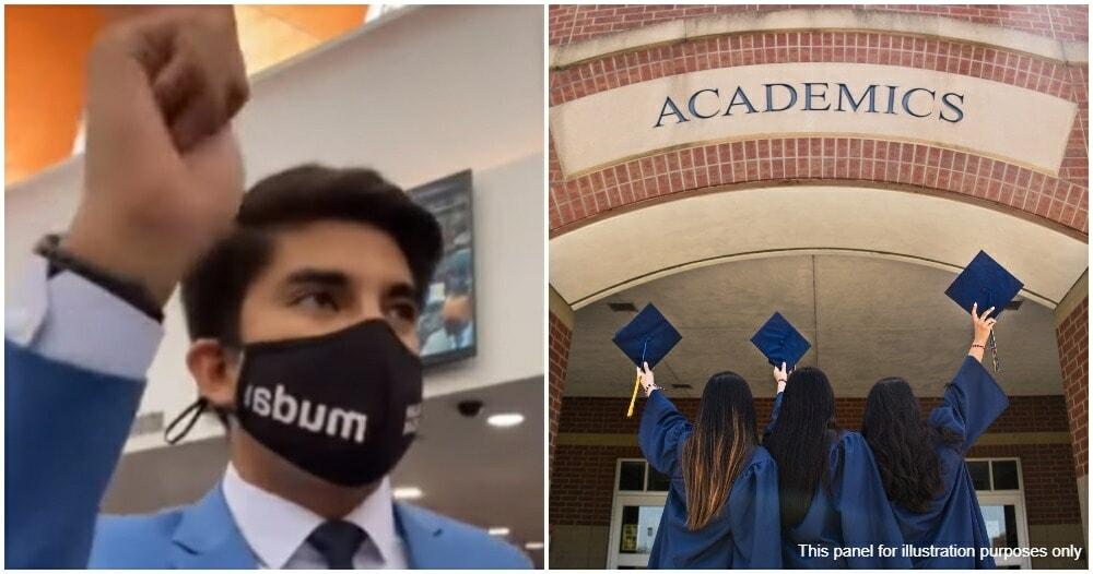 Syed Saddiq University Courses Graduation Time