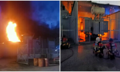 Kuchai Lama Tnb Fire