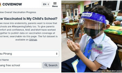 School Vaxx Rate Feature Covid Now