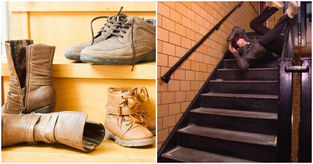 Shoes On Stairs Ft